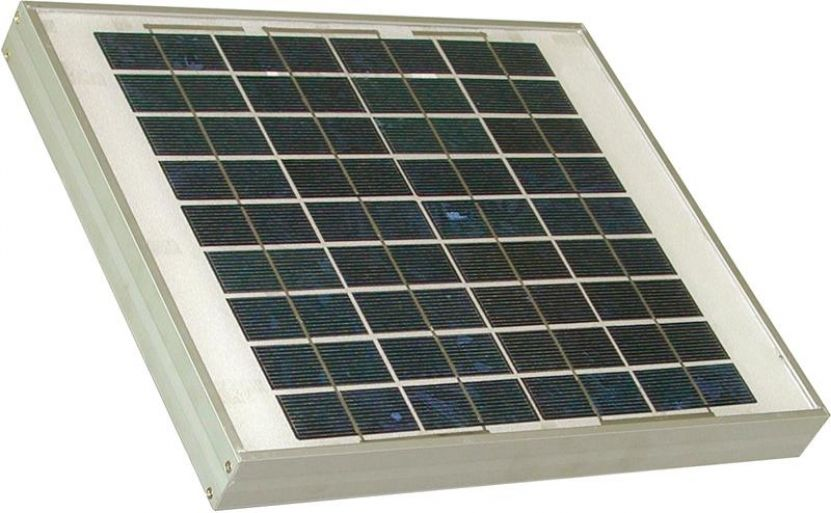 Weidezaun Solarmodule