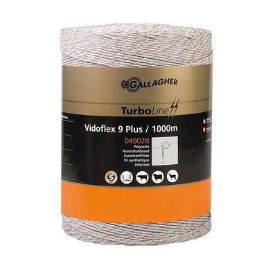 Gallagher Vidoflex 9 TurboLine Plus 1000m weiß