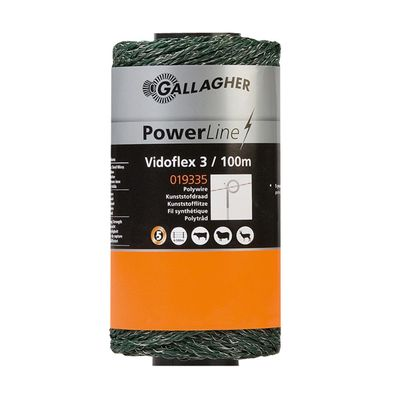 Gallagher Vidoflex 3 PowerLine 100m grün