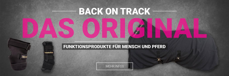 Back on Track Produkte für Reiter und Pferde
